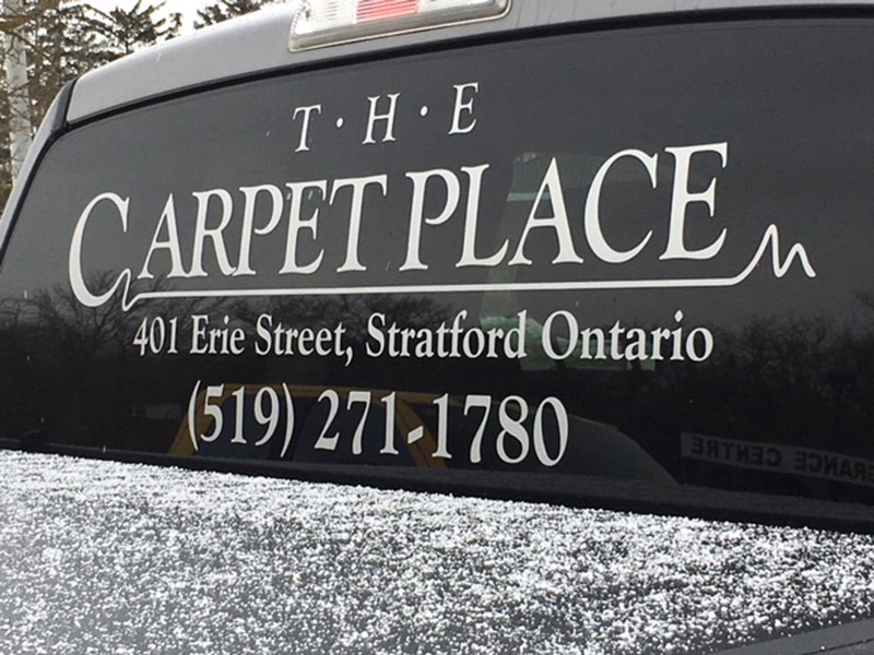 The Carpet Place truck